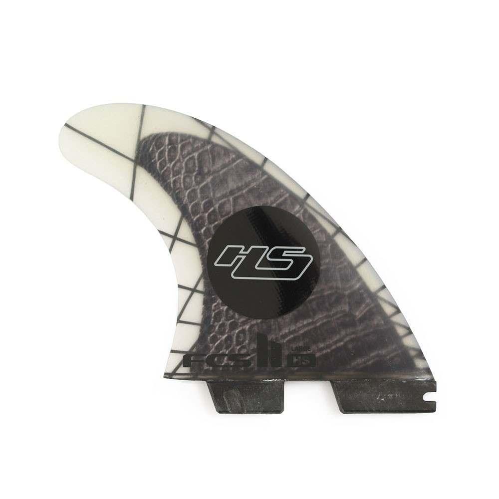 FCS 2 HS Performance Carbon Large Surfboard Fins
