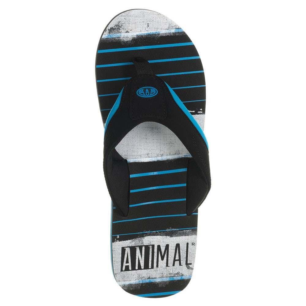 Animal Jekyl Torn Sandals - Kingfisher Blue