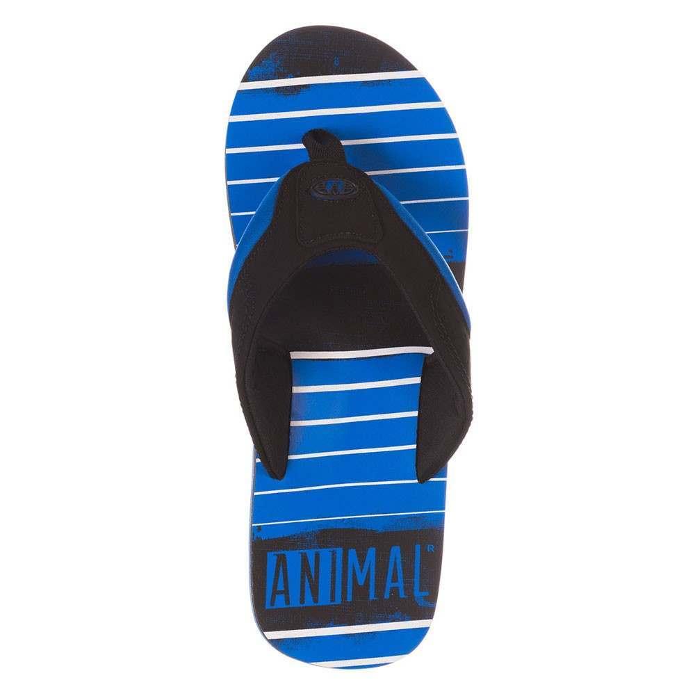 Animal Jekyl Torn Sandals - Blue