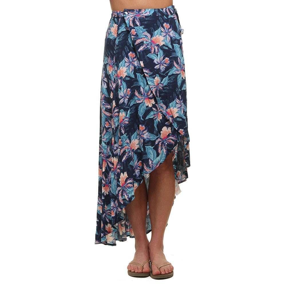Ripcurl Tropic Tribe Maxi Skirt Navy
