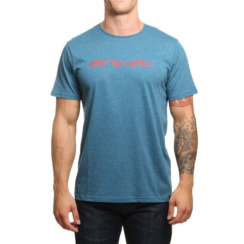 Animal Marrly Tee Lyons Blue Marl