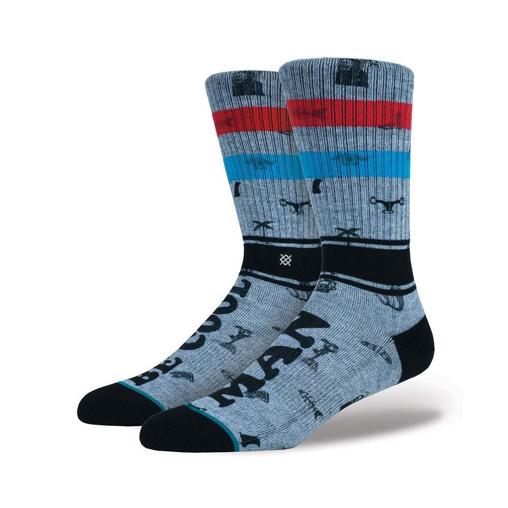 Stance X Captain Fin Be Cool Socks Rust