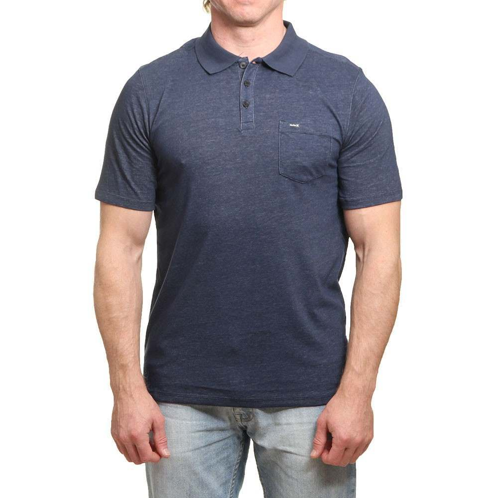 Hurley Dri-Fit Lagos Polo Shirt Obsidian
