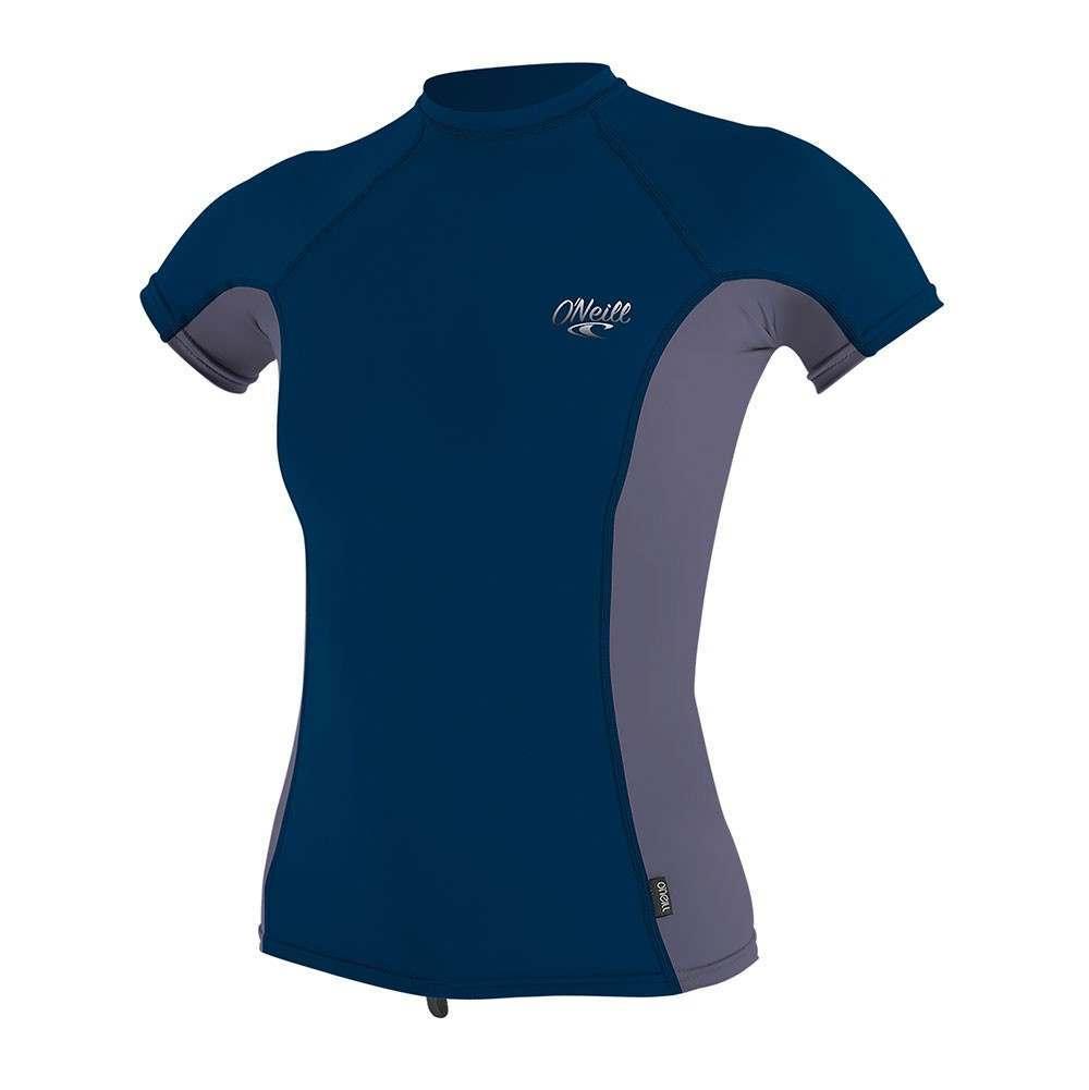 ONeill Ladies Premium Skins UV Rash Vest Abyss