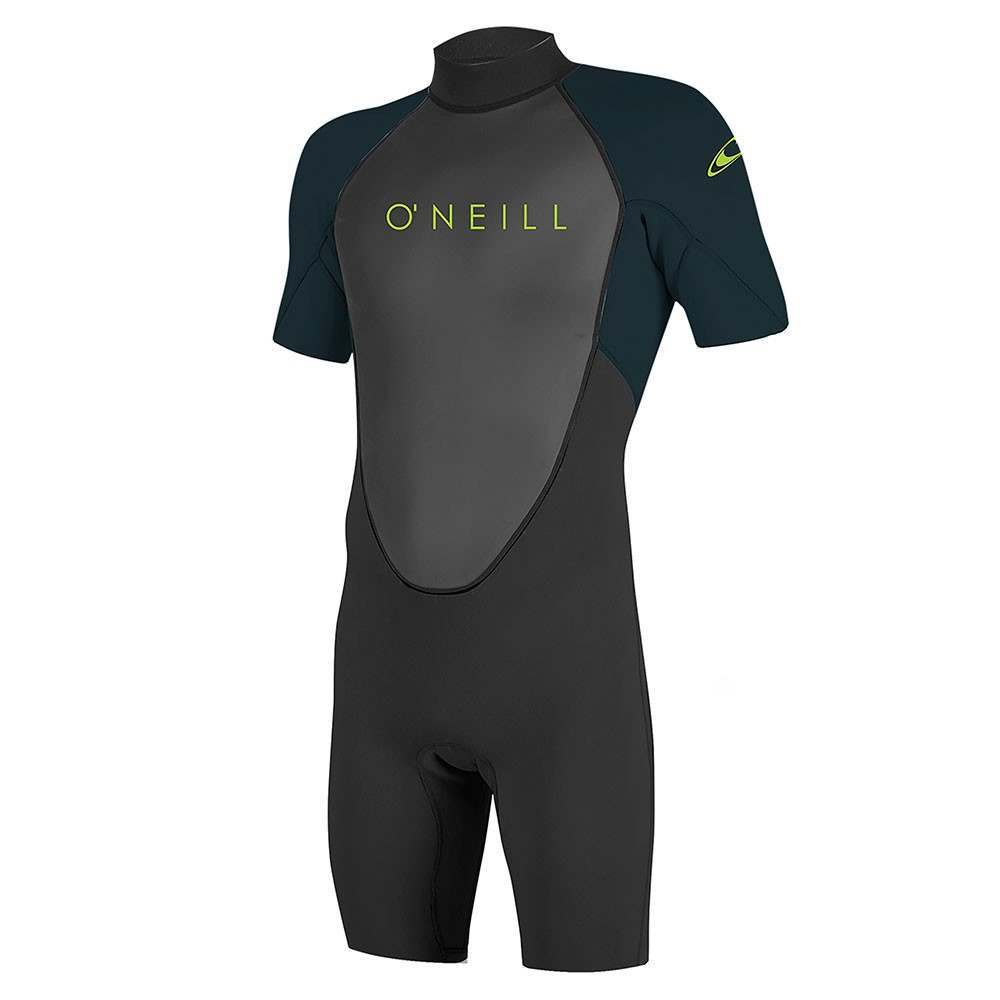 ONeill Youth Reactor 2 2MM Shorty Wetsuit Blk/Slt