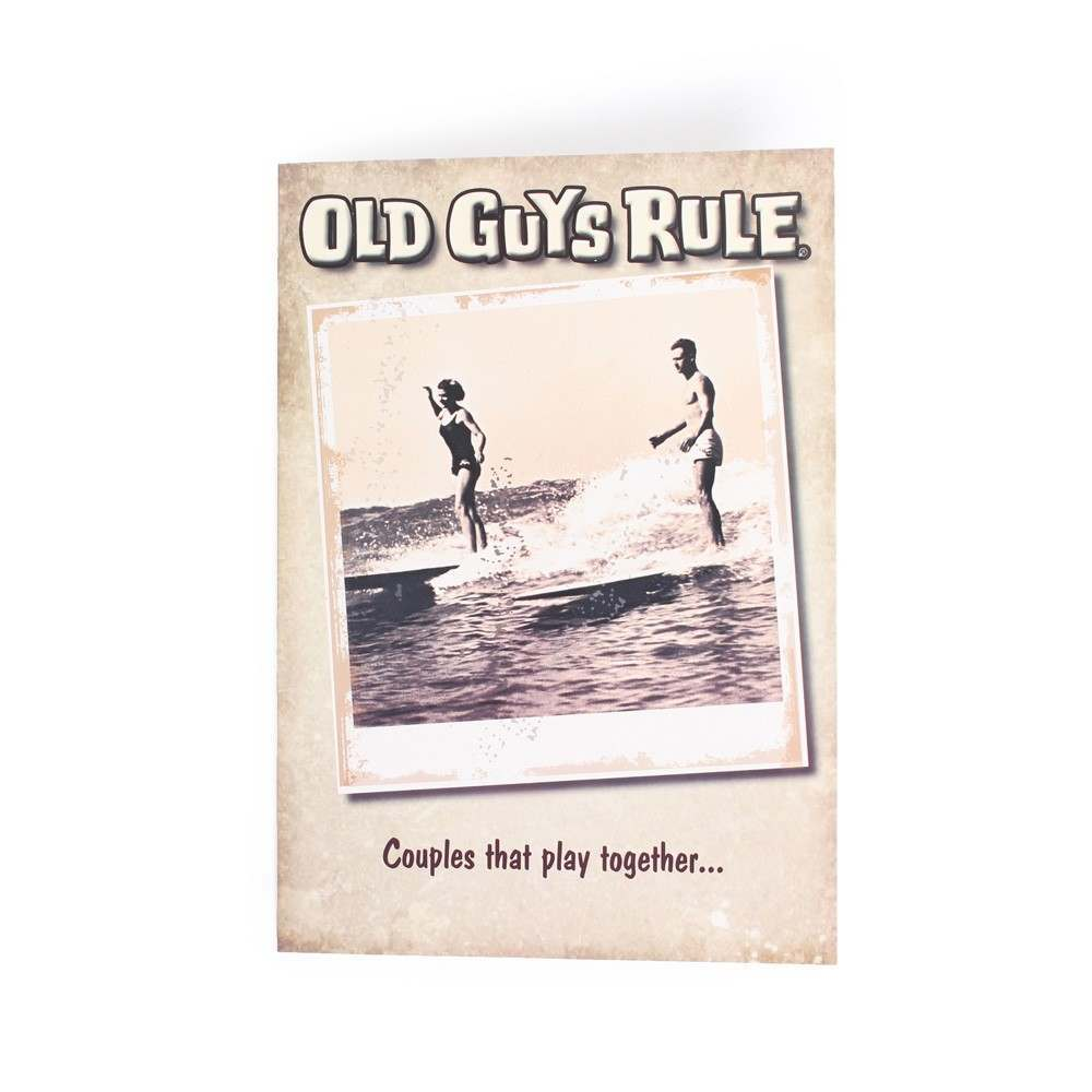 OLD GUYS RULE 'COUPLES THAT PLAY TOGETHER' CARD