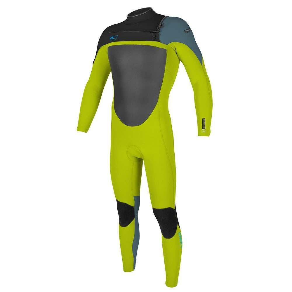 ONeill Youth Superfreak FZ 3/2 GBS Wetsuit Lim/Red