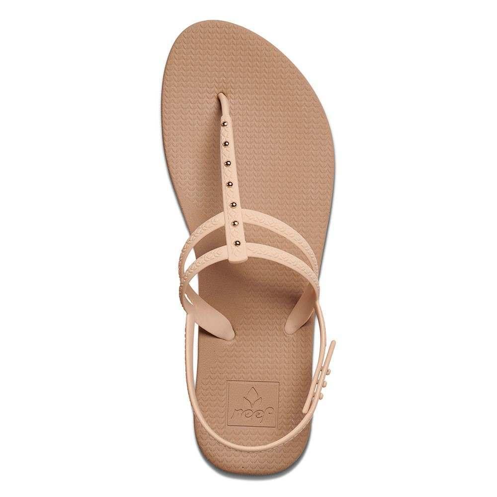 Reef Escape Lux T Stud Sandals Gold