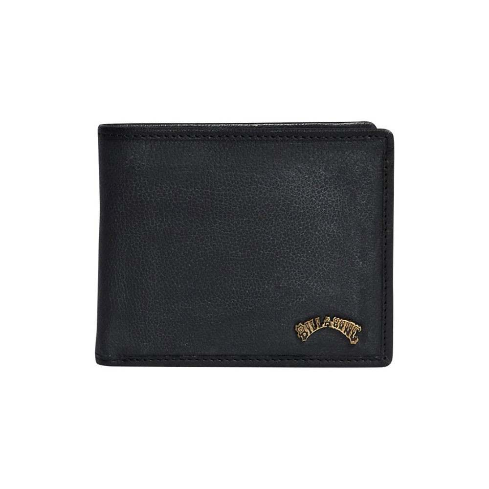 Billabong Arch ID Leather Wallet Black