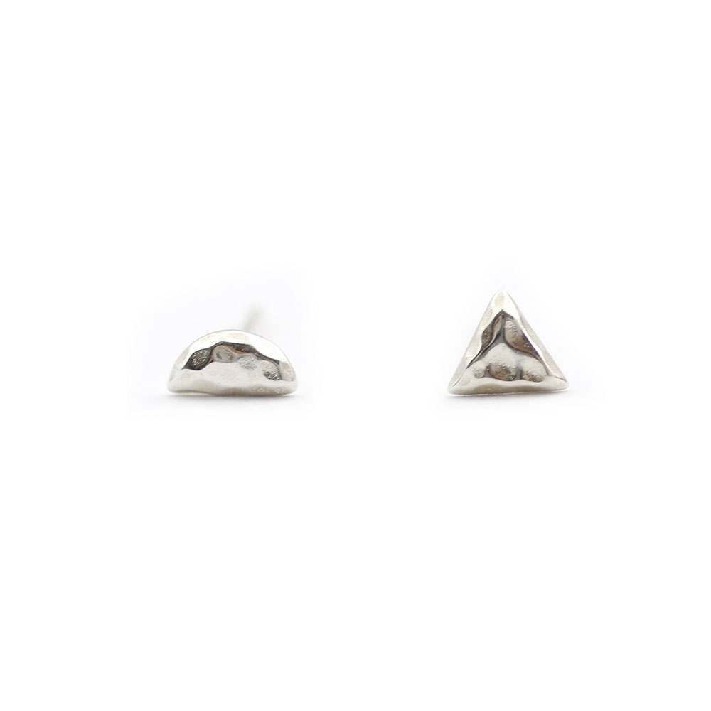 Spindrift Weather Earrings Silver