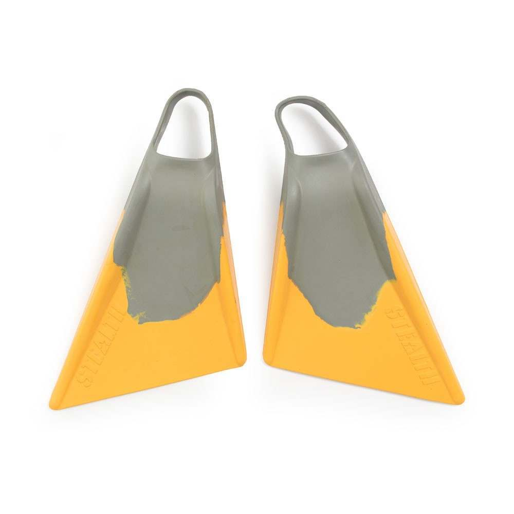 STEALTH DAVE WINCHESTER S2 SWIMFINS GREY/GOLD