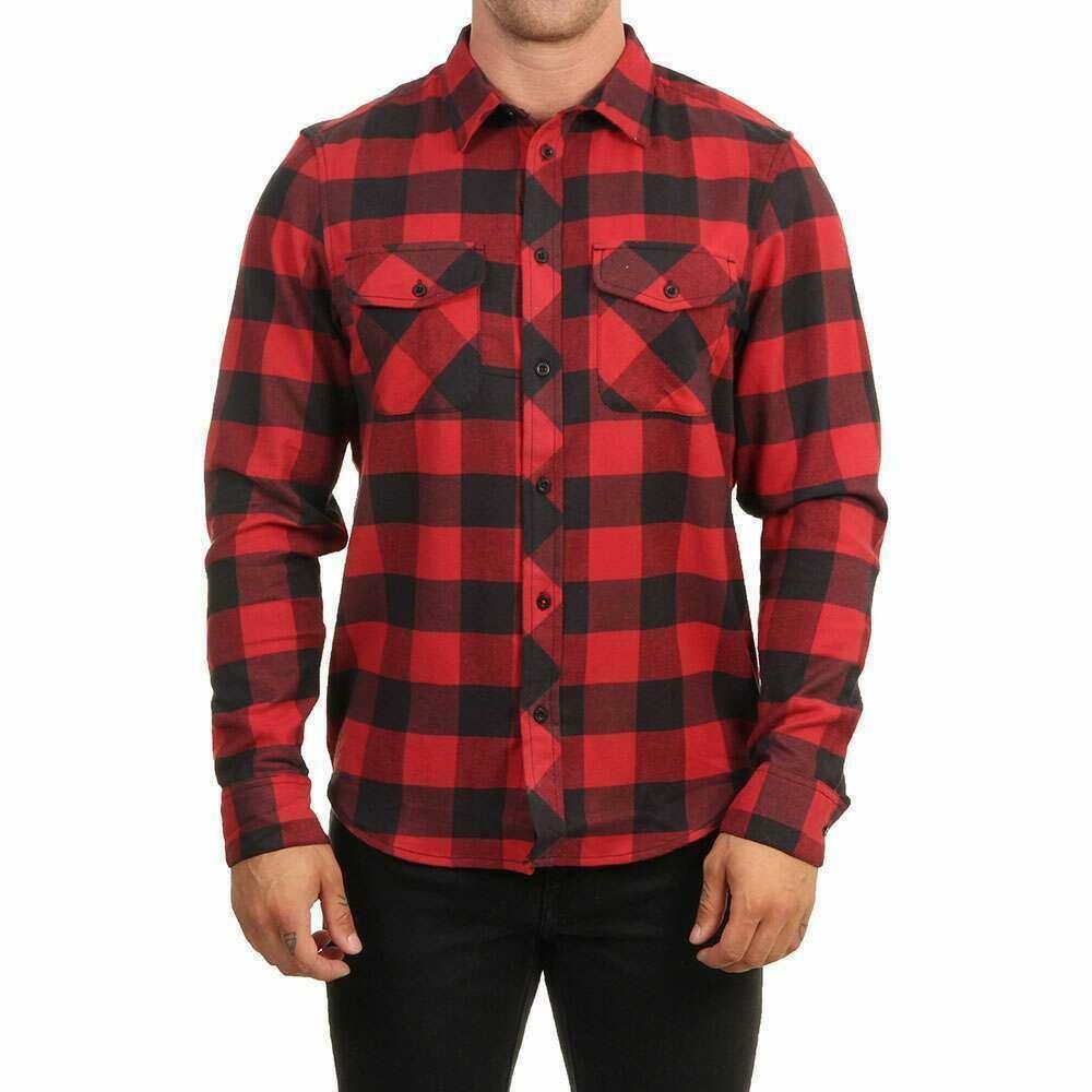 Element Tacoma Shirt Pompeian Red