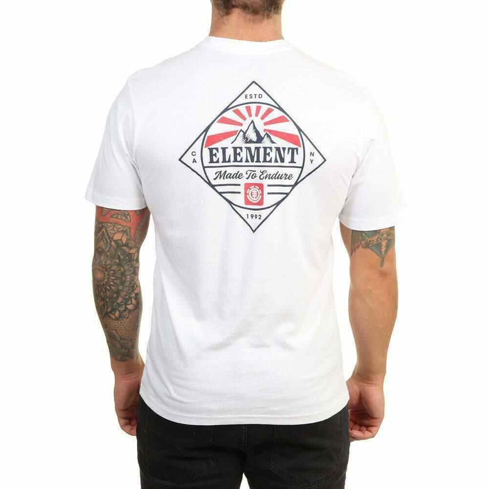 Element Medwell Tee Optic White