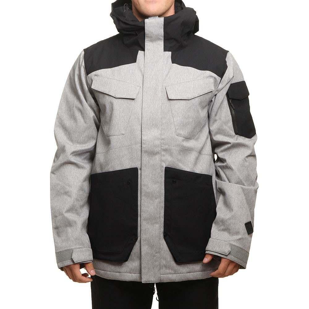 Volcom VCO Inferno Ins Snow Jacket Heather Grey