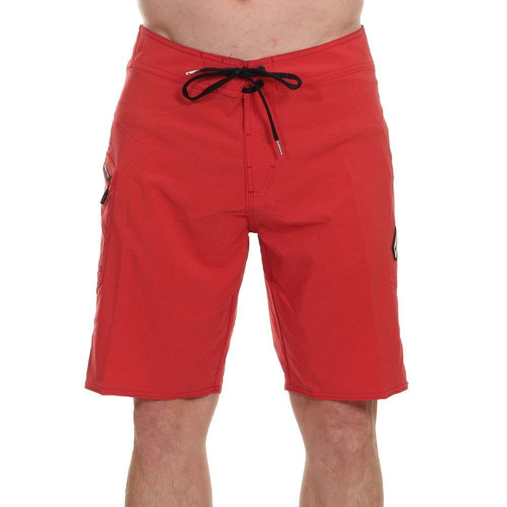 Volcom Lido Solid MOD Boardshorts Motorhead Red