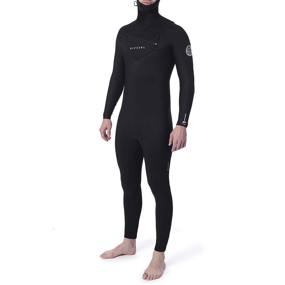 Ripcurl Dawn Patrol Warmth 5/4 Hooded Wetsuit Blk
