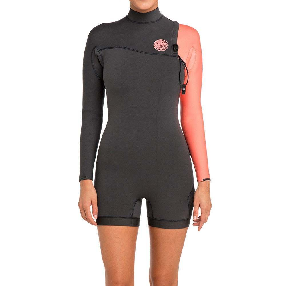 Ripcurl G-Bomb Long Sleeve Zip Free 2MM Shorty Crl