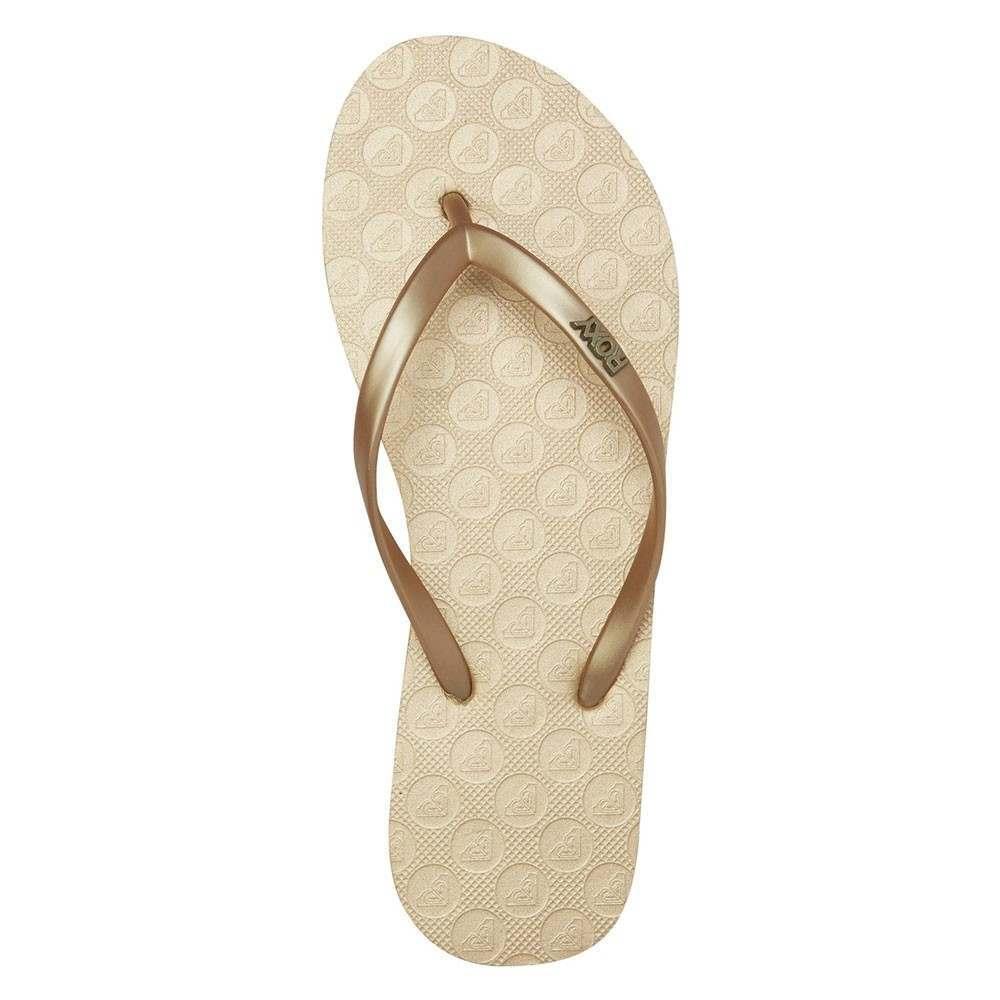 Roxy Viva V Sandals Gold