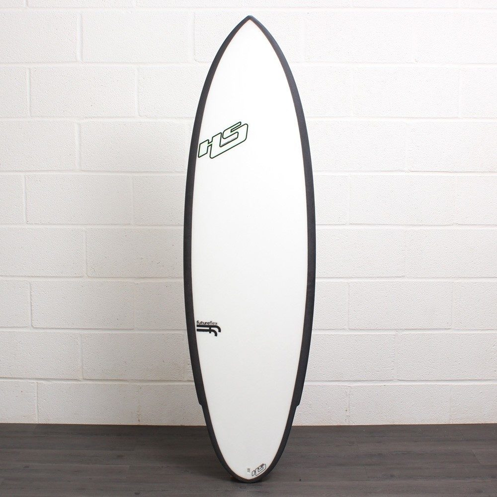 HAYDEN SHAPES SHRED SLED FF Clear Carbon 5ft 8