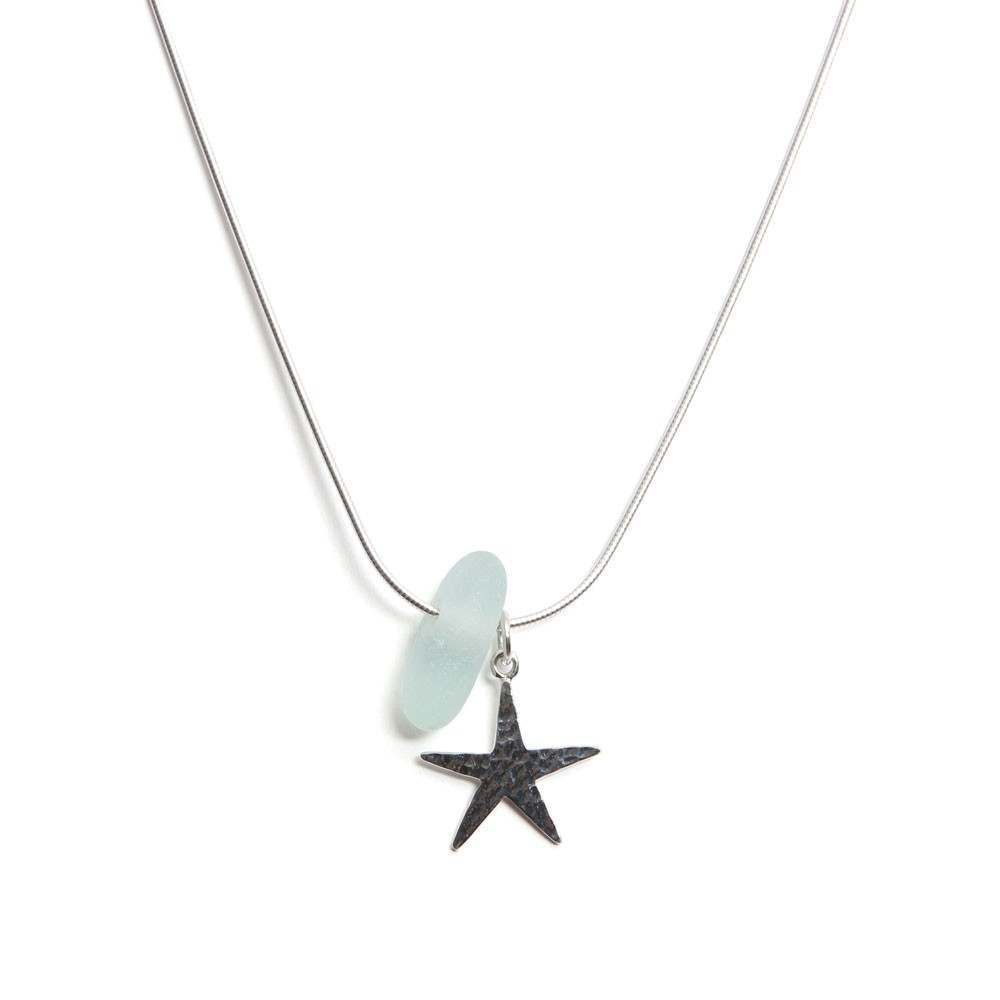 spindrift starfish necklace turquoise jewellery