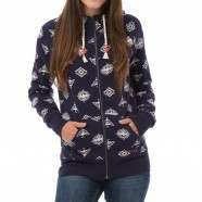 ANIMAL JEWEL MAI Z/HOODY Midnight Blue