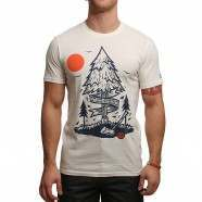ELEMENT STAND STRONG TEE Ivory