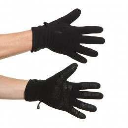 Barts Fleece Gloves Black