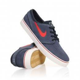 Nike SB Stefan Janoski Shoes Obsidian/Red
