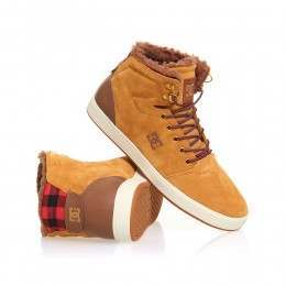 DC Crisis High WNT Shoes Wheat/Dark Choc