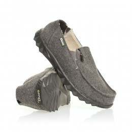 Hey Dude Farty Chalet Felt (Fur Lined) Shoes Grey