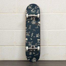 Globe Full On 7.75 Inch Skateboard Complete Navy