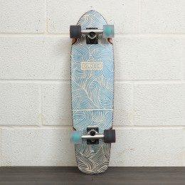 Globe Tracer 31 Inch Skateboard White/Black/Irides