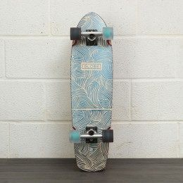 Globe Traver Classic 31 Inch Skateboard White/Blac