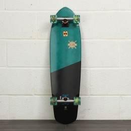 Globe Blazer XL 36 Inch Skateboard Blue Tropics