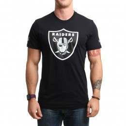 New Era NFL Raiders Tee Black