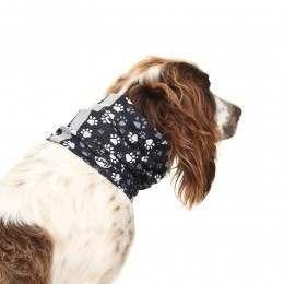 Buff Reflective Dog Bandana Traces
