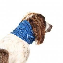 Buff Dog Bandana Walker Blue