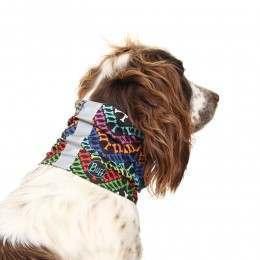 Buff Reflective Dog Bandana Yashie