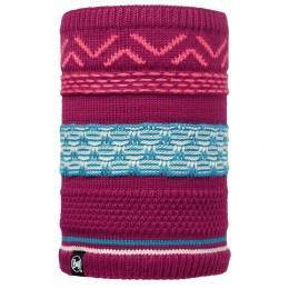 Buff Switch Knitted Neckwarmer Pink Cerisse/Mardi