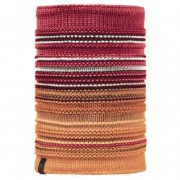 Buff Neper Knitted Neckwarmer Red Samba