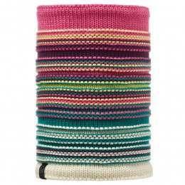 Buff Neper Knitted Neckwarmer Magenta/Mardi Grape