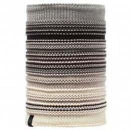 Buff Neper Knitted Neckwarmer Eleni Grey/Vigore