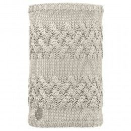 Buff Savva Knitted Neckwarmer Cream/Grey Vigore