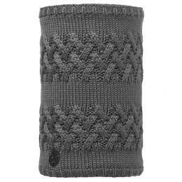 Buff Savva Knitted Neckwarmer Grey Castlerock