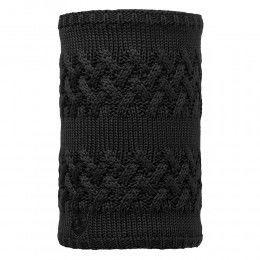 Buff Savva Knitted Neckwarmer Black