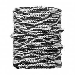 Buff Kirvy Knitted Neckwarmer Black/Black