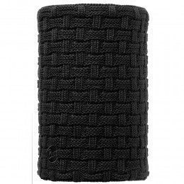 Buff Airon Knitted Neckwarmer Black/Black