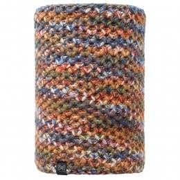 Buff Margo Knitted Neckwarmer Orange/Grey Vigore