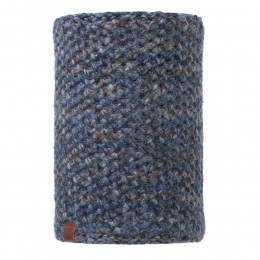 Buff Margo Knitted Neckwarmer Navy Blue