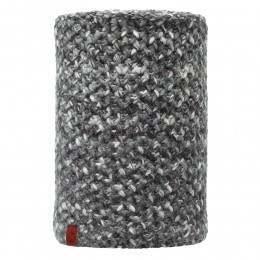 Buff Margo Knitted Neckwarmer Grey/Black